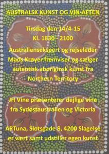 Australsk kunst og vin