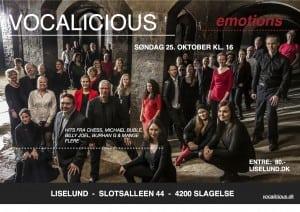 Vocalicious-Liselund 25.okt
