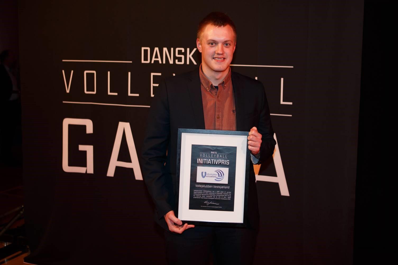 Fornem pris til Volleyklubben Vestsjælland