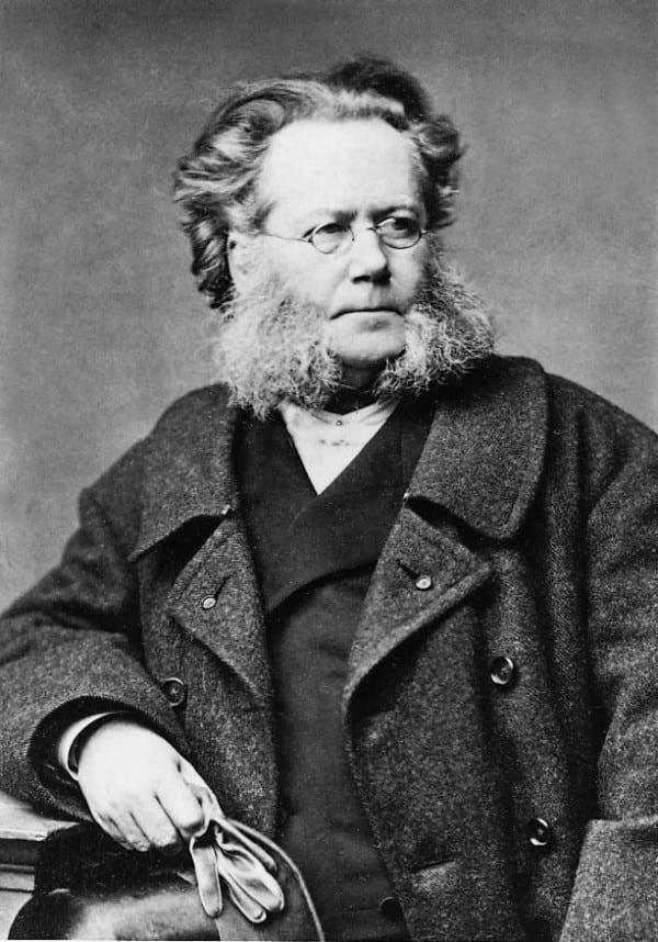 Henrik Ibsen - Lad løgn tie og sandhed tale