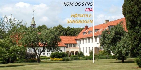 Kom og syng fra højskolesangbogen. Liselund