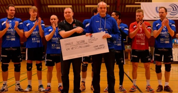 Volleyherrer vandt gyser mod Aalborg