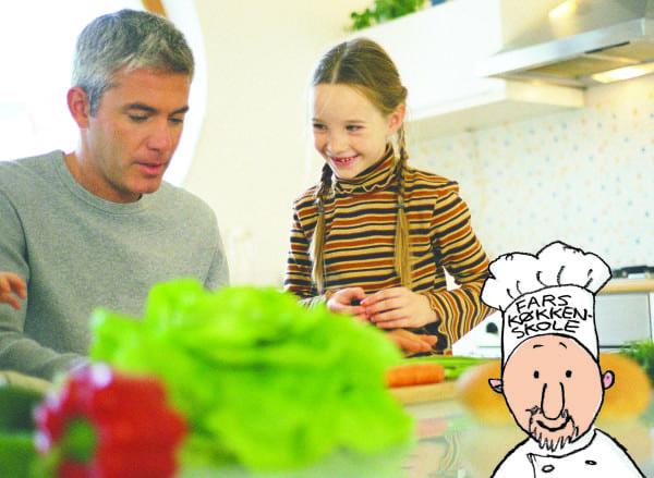 Fars køkkenskole – kun for fædre og børn