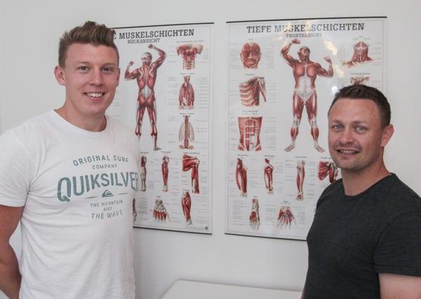 Fysioterapeuter holdt skiftedag på Bagervej
