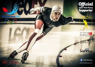 Lokalt talent til VM og OL i skøjteløb