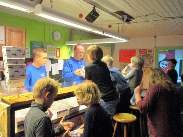 Møde i Vestsjællands Ungdomsklub