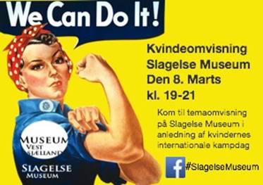 Kvindernes kampdag fejres på museet