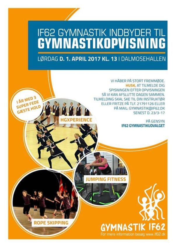IF 62 Gymnastikopvisning