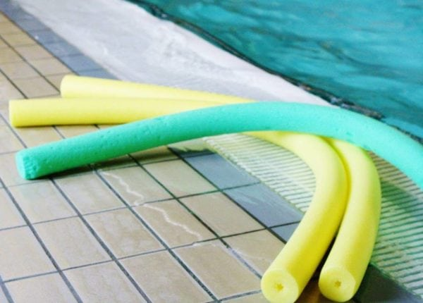 Intensiv sommersvømning