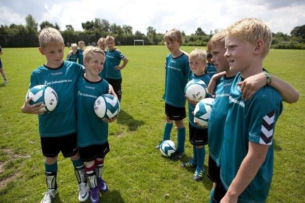 Hvilket ungdomshold er bedst til fodbold?