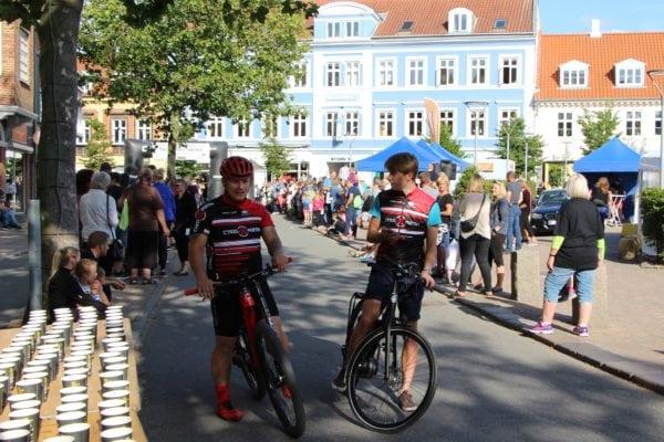 Cykling og kondiløb i byen