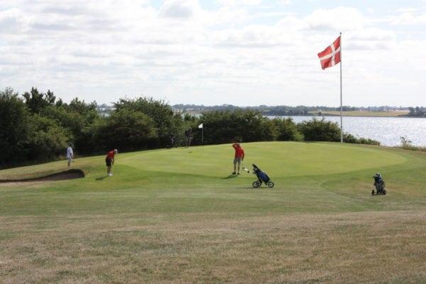 Festuge i Korsør golfklub med 1200 deltagere