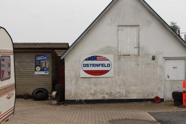 Ostenfeld satser amerikansk