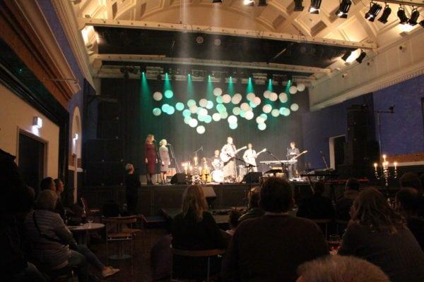 Handel og musikalsk underholdning i kulturnatten