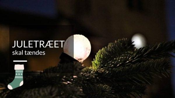 Juletræstænding på Schweizerpladsen