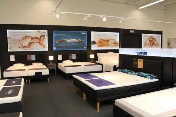 Fristende madrasser tiltrækker i Drømmeland
