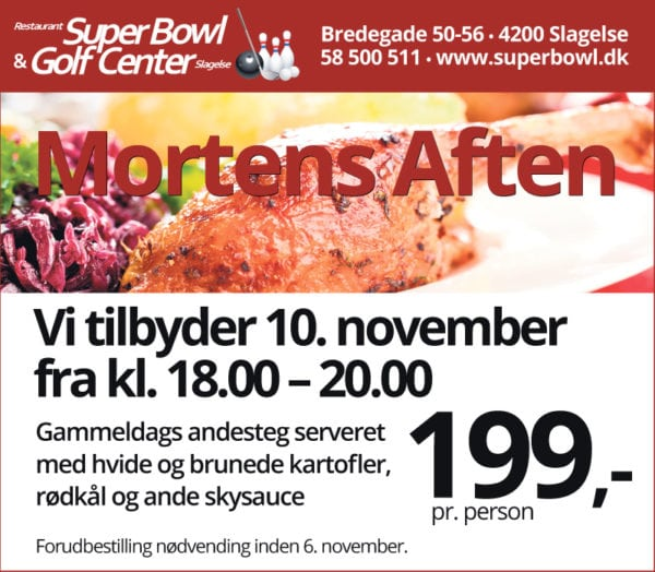 Mortensaften og bowl