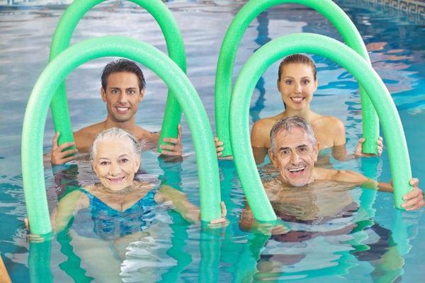 Motion i varmt vand