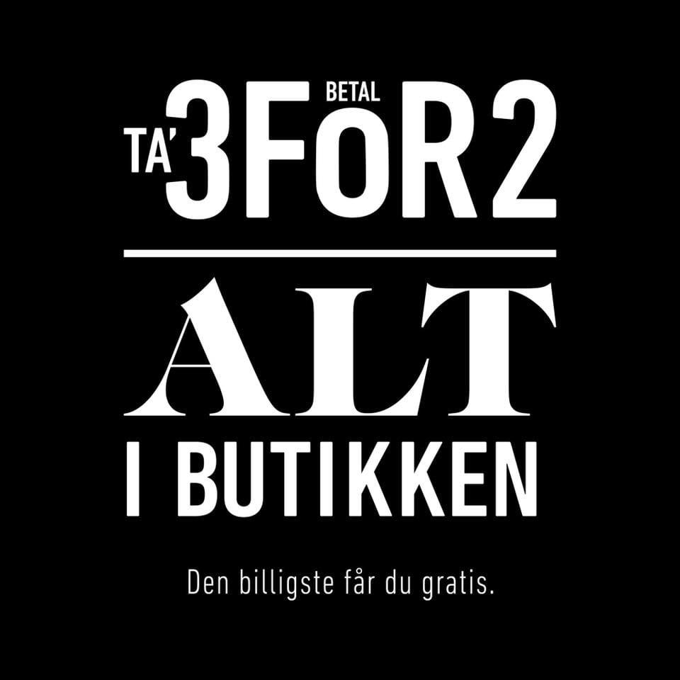 b4aa06a3d3aa Køb 3 og betal for 2 – Dit Slagelse