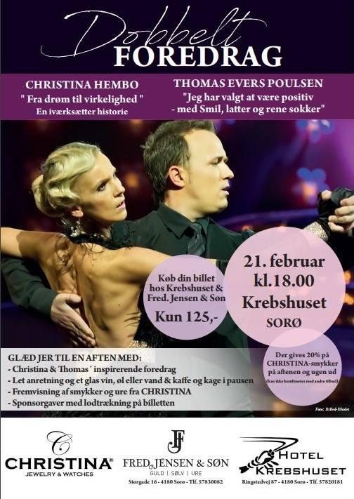 Christina Hembo og Thomas Evers Poulsen
