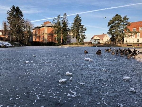 Isen er ikke sikker endnu