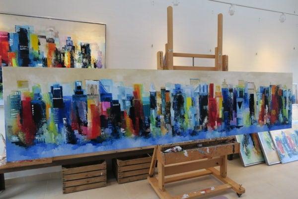 Kunstgalleriet løser udsædvanlige bestillingsopgaver