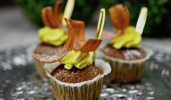 De små sunde muffins