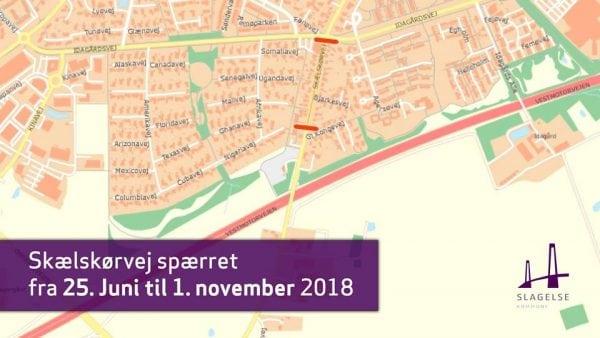 Trafik ændringer på Skælskørvej
