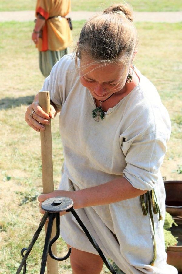 Kom helt ned i tempo med vikingerne