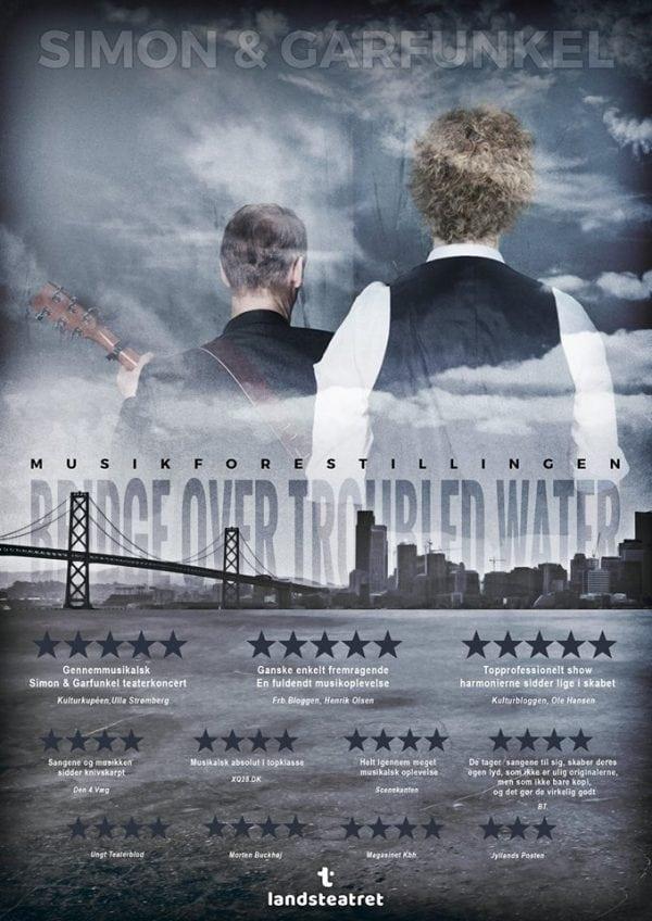 Teaterkoncert om Simon & Garfunkel - Bridge Over Troubled Water