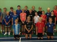 SBK opstartslejr 2018. Foto: Privatfoto/ Skælskør Badminton Klub