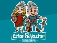 Ester & Vester. Foto: VisitVestsjælland.