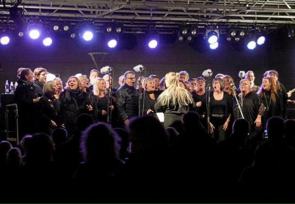 Gospel United til Made IN Slagelse ved Kulturnatten