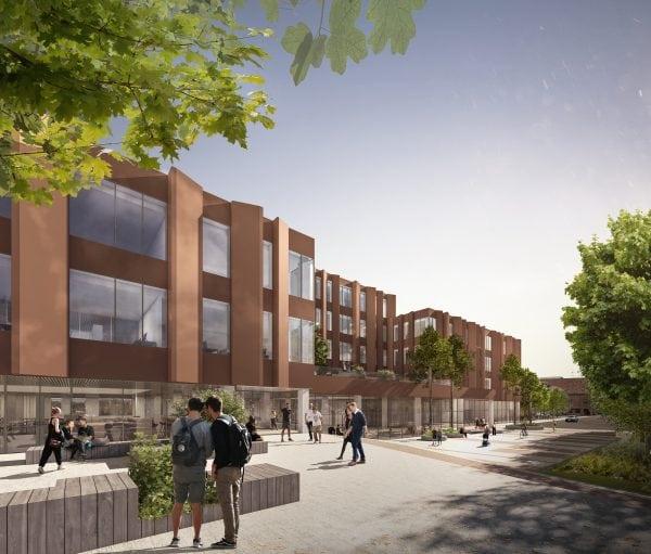 C.C. Contractor vinder totalentreprisen på nyt campusbyggeri i Slagelse