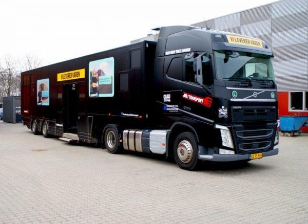 Populær kæmpe-truck på Danmarksturné besøger Slagelse