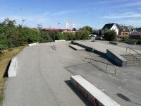 Nuværende skaterpark. Foto: Slagelse Kommune.
