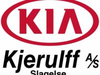 Logo: KIA Kjerulff A/S Slagelse.