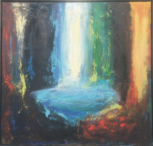Kunst i Gunner V på Kulturnatten