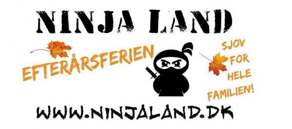 Ninja Land i efterårsferien