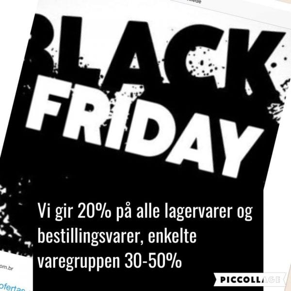 Black Friday hos Gunner V