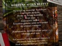 Mortens Aften Buffet på Krebshuset