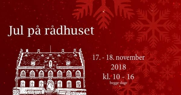 Jul på Rådhuset i Skælskør