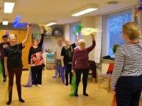 Hjernetræning i Dalmose. Foto: Slagelse Kommune.