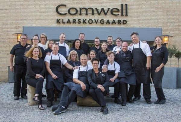 Comwell Klarskovgaard inviterer til Nytårskur
