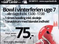 Vinterferie i Super Bowl & Golf Center