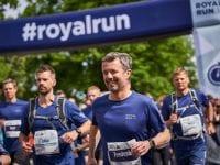 H.K.H. Kronprins Frederik til Royal Run. Pressefoto/Royal Run: Jan Kejser.