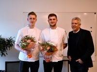 Magnus Rosendahl, Mathias Dyhr Rothmann og John Dyrby Paulsen. Foto: Slagelse kommune.