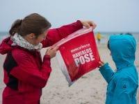 """Forsvarets havmiljøvogterkampagne er Danmarks første, største og længstlevende kampagne mod """"havfald"""". Foto: Casper Tybjerg/Havmiljøvogterkampagnen."""