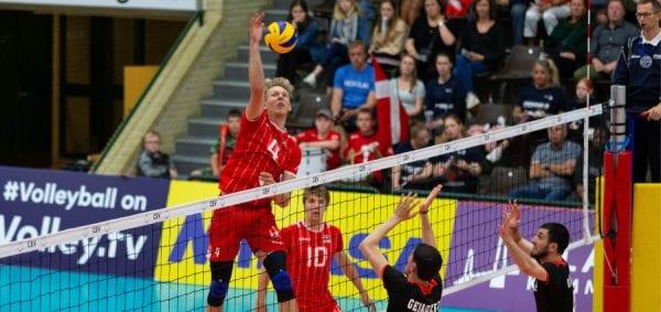 Danske volleydrenge fik god start på Silver League