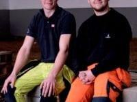 Emil Spenner og David Nielsen, foto: EUC Sjælland